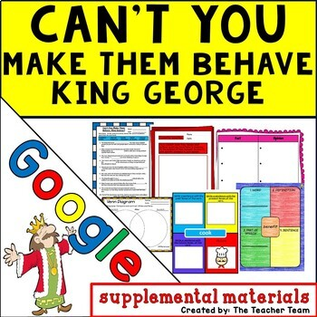 Can't You Make Them Behave King George? Journeys 5th Google Digital Resource