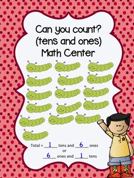 Can you Count? (Math Center with ones and tens)