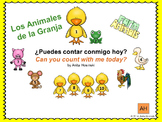 bilingual spanish counting book numbers 1-10
