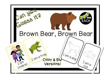 Can you Guess it? Brown Bear Brown Bear Companion