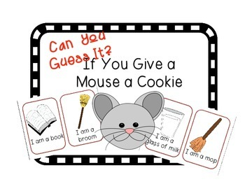 Can you Guess it? If You Give a Mouse a Cookie Companion