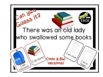 Can you Guess it? There was an old lady who swallowed some books Companion