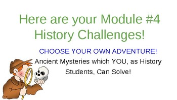Can you Meet These History Challenges of the 21st Century?  Series IV