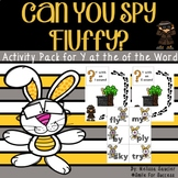 Can you Spy Fluffy? {Y at the End of the Word Activity Pack}