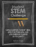 STEM: Can You Balance A Pencil???