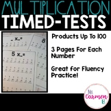Mulitplication Timed Tests