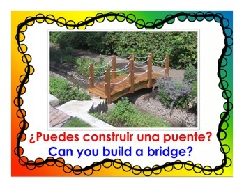 Can you build this? Block Center Bilingual Book for Dual Language Classrooms