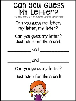 Can you guess my letter? {freebie}