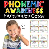 Phonemic Awareness Interventions