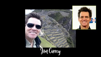 Can you identify these famous people at Machu Picchu?