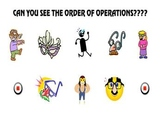 Can you see the order of operations??? powerpoint game