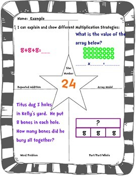 Can you show Multiplication Strategies?