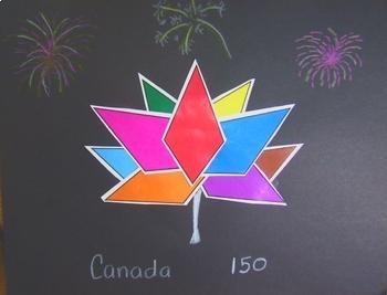 Canada 150 Geometrical Art