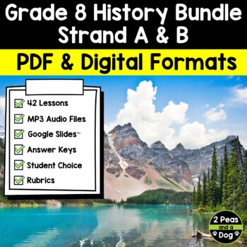 Grade 8 History Bundle Confederation, Western Settlement and Changing Society