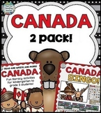 Canada early literacy and social studies pack!