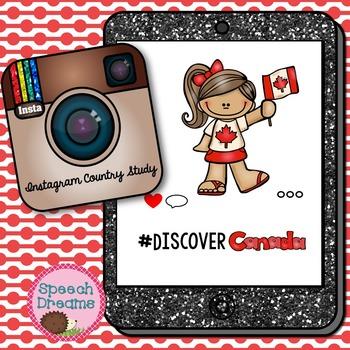 Canada Country Study {Supplemental Activities} Instagram