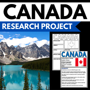 Canada Country Study - Facts and Information about Canada