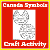 Canada   Craft Activity   Kindergarten 1st 2nd 3rd Grade  