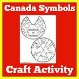 Canada Symbols Activity