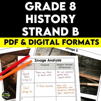 Grade 8 History Canada A Changing Society 1890-1914 Strand B