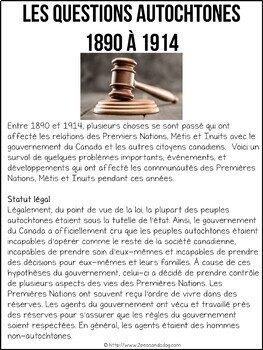 Canada A Changing Society 1890-1914 French Edition