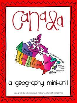 Canada - A Geography Mini-Unit