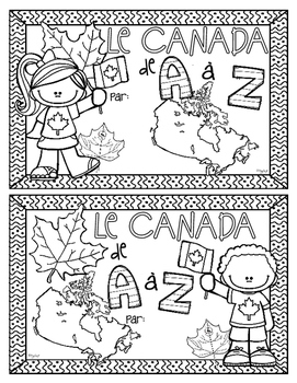 Canada A to Z ~ French ~ Le Canada de A à Z