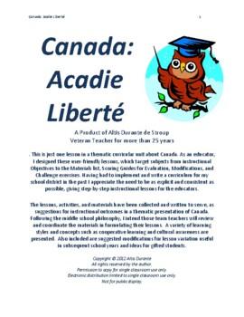 Canada: Acadie Liberté 1994
