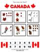 Canada Activity Packet / Worksheet Set w/ flashcards