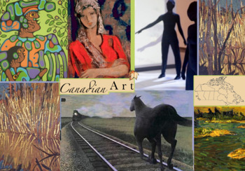 Canada Art History ~ FREE POSTER ~ 1600s to date ~ Major A