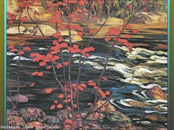 Canada Art History Group of Seven ~ 202 Slides ~ Landscape