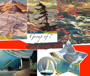 Canada Art History Group of Seven ~ FREE POSTER ~ Landscape Painting