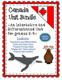 Canada BUNDLE of Interactive, Differentiated, and Guided N