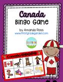 Canada Bingo {Small Group Social Studies Activity}