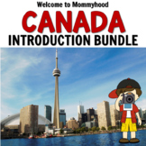 Canada Bundle for Montessori Inspired Geography Activities
