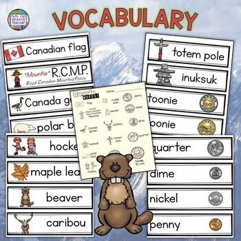 Canada Literacy Activities