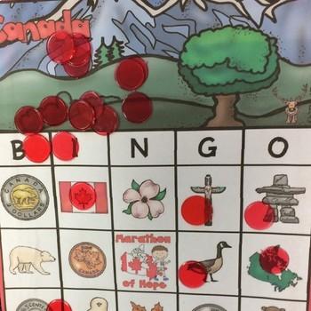 Canada Bingo