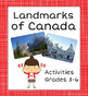 Canada! Canadian Identity Bundle of 4 Resources
