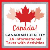 Canada! Canadian Identity, History: Texts, Activities PRIN
