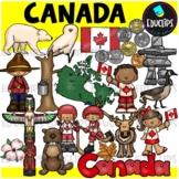 Canada Clip Art Bundle {Educlips Clipart}