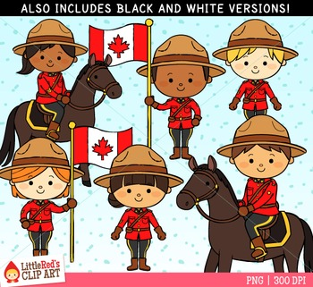 Mounties Canada Clipart