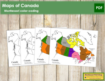Canada Control Maps and Masters