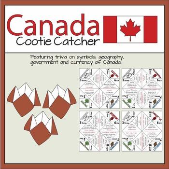 Canada 150 Cootie Catchers