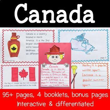 Canada Country Booklet - Canada Country Study - Interactive and Differentiated