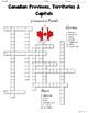 Canada Crossword Puzzles