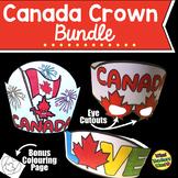 Canada Crown Bundle With Bonus Colouring Sheet