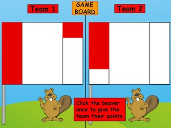 Canada Social Studies Grade One PowerPoint Game