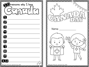 Canada Day Activity Booklet