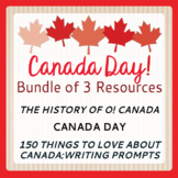 Canada Day Bundle of 3 Resources