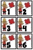 Canada Day Celebration Calendar Pieces - Bonus Maple Leaf Set - PreK SpEd